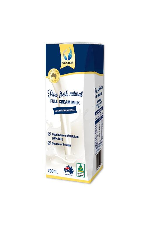 Sữa tươi UHT Ozi Choice 200ml