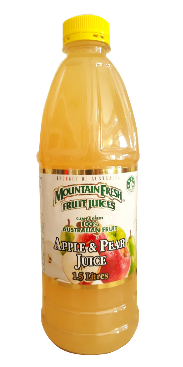 Nước ép táo và lê Mountain Fresh 1.5L