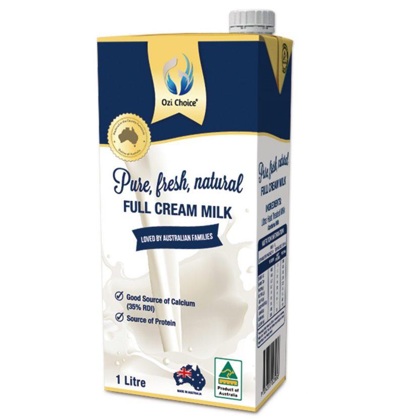 Sữa tươi UHT Ozi Choice Hộp 1 Lít